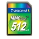Transcend 512MB High Speed MMC - TS512MMC4